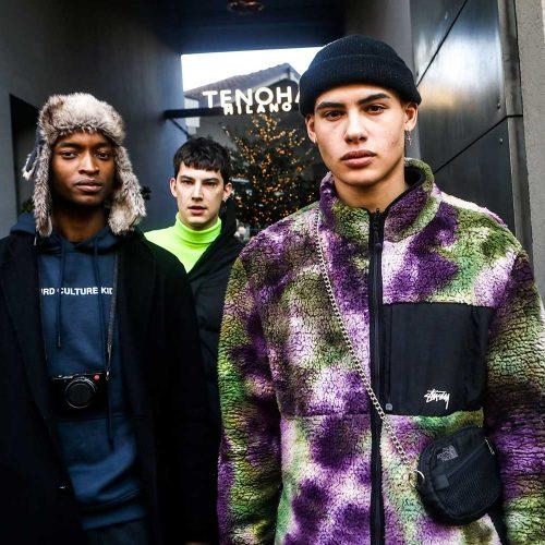 Modelli di Dolce e Gabbana alla Milano Fashion Week, foto di Mairo Cinquetti