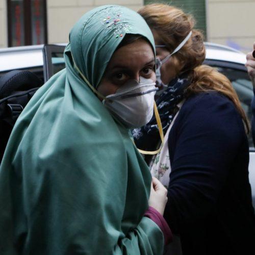 Liberazione e ritorno a casa di Silvia Romano dal rapimento in Kenia, foto di Mairo Cinquetti