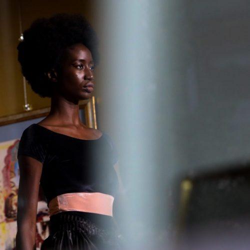 Sfilata di Francesca Liberatore alla Milano Fashion Week, foto di Mairo Cinquetti