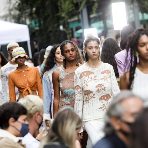 Sfilata di Marco Rambaldi alla Milano Fashion Week 2020, foto di Mairo Cinquetti