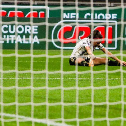 L'attaccante della Juventus Women Barbara Bonansea durante Milan Juventus allo stadio San Siro di Milano, foto di Mairo Cinquetti