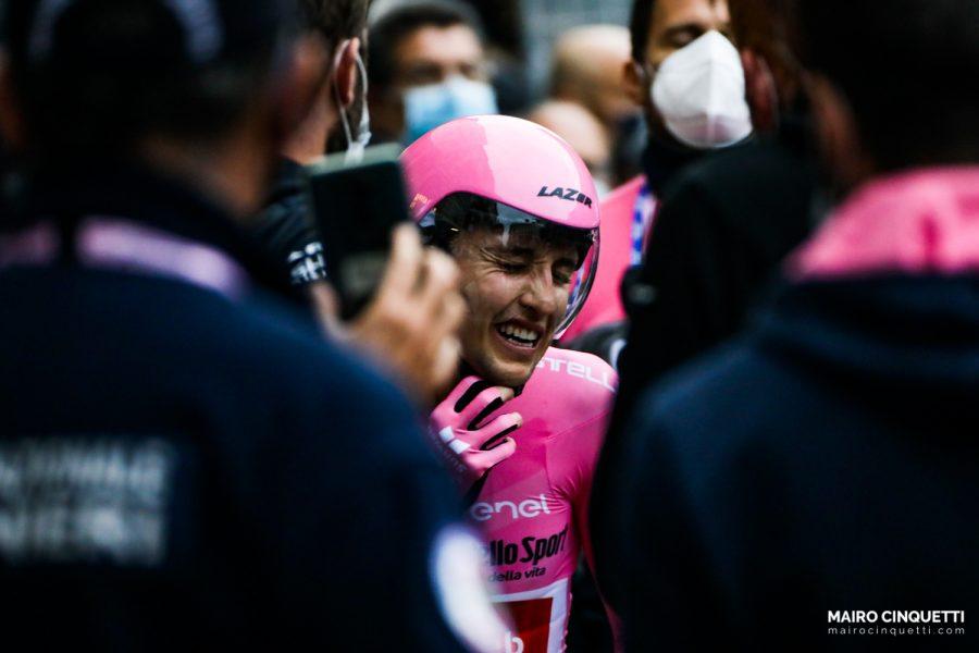 Last stage of Giro D'Italia 2020 in Milan, Italy, on October 25 2020